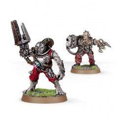 Grey Knights Servitors with...